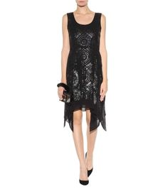 mytheresa.com - Nikkole embellished silk dress - Luxury Fashion for Women / Designer clothing, shoes, bags