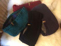 Stirnbänder made by Strickgräfin für Herren mit Fleece ... Skifahrern, Wandern, Eisstockschießen, usw.! #Strickgraefin #bandeau #knitting #knitwear Knitted Hats, Fur, Knitting, Fashion, Ski, Hiking, Knit Hats, Moda, Tricot