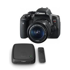 Canon EOS Rebel T6i DSLR Camera with EF-S 18-55mm f/3.5-5.6 IS STM Lens, - With Canon Connect Station CS100. Canon EOS Rebel T6i DSLR Camera Body - EF-S 18-55mm f/3.5-5.6 IS STM Lens - LP-E17 Battery Pack - LC-E17 Battery Charger - Eyecup Ef - EW-300D Wide Strap - IFC-130U Interface Cable - EOS Digital Solution Disk - Canon 1 Year Limited Warranty- Canon Connect Station CS100. Lens Mount: Canon EFCanon EF-S. Camera Format: APS-C (1.6x Crop Factor). Pixels: Actual: 24.7 MegapixelEffective:...