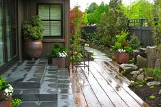 Japanese Garden Project | stockandhill.com | A secluded Japanese garden.