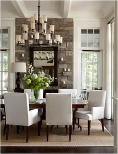 Interior design ideas 2019 and decorating ideas for home decoration - interior design for bedroom, living room, dinning room, bathroom and kitchen for a beautiful home decoration. Cape Cod Style House, Shingle Style Homes, Dining Room Inspiration, Design Inspiration, Design Ideas, Furniture Inspiration, Dining Room Design, Dining Area, Dining Rooms