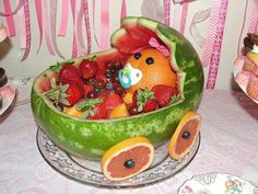 watermelon baby shower basket - AT&T Yahoo Search Results