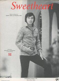 1969 Sheet Music SWEETHEART ~ Engelbert Humperdinck NEW!