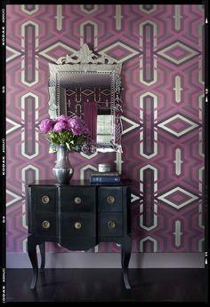 Graphic & feminine office by Brian Patrick Flynn