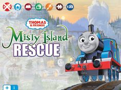 Don't miss these apps if you have Thomas the train fans in your household - Thomas & Friends: Misty Island - Educational App