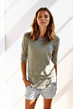 Monrow Double-Layer Tunic - Urban Outfitters