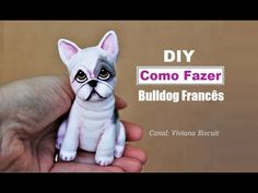 DIY How to make a franch bulldog / boston terrie Super Fast and easy on Biscuit / Clay Smartest Dogs, Super Cute Dogs, Most Popular Dog Breeds, Clay Animals, Retriever Dog, Bulldog Puppies, Big Dogs, Pet Shop, Dog Toys