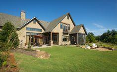 Luxury Home Exterior    Dillard-Jones Builders   In Town   Lake   Mountains