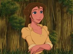 I got: Jane! Which Female Disney Non-Princess Are You?  You are most like Jane Porter from Tarzan! You are charming and sweet! You are also creative and intelligent.