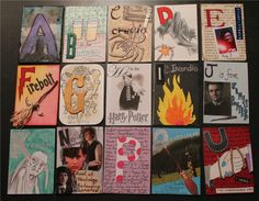 Harry Potter ATCs. Wish I had enough time on my hands!