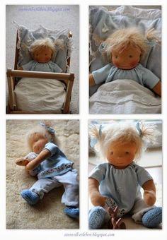 Experience sensibly - live more sensibly: (Waldorf) dolls Sew Al sinnvoll erleben – sinnvoller leben: (Waldorf) Puppen Sew Along Teil 5 Experience sensibly – live more meaningfully: (Waldorf) Dolls Sew Along Part 5 - Doll Crafts, Diy Doll, Doll Toys, Baby Dolls, Waldorf Toys, Waldorf Crafts, Sewing Dolls, Doll Tutorial, New Dolls