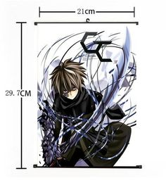 Hot Japan Anime Guilty Crown Crazy Cool Shu Home Decor Poster Wall Scroll 21*30 $5.99