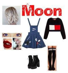 """Moon 1"" by babykookie971 ❤ liked on Polyvore featuring P & Lot and Charlotte Tilbury"