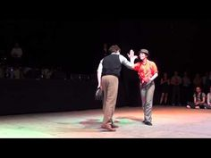 ▶ CRC 2013 angie & bernard - YouTube 1:20-2:25 bit with fighting for and exchanging hats