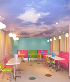 Sweet Ice Cream Parlour by AbsoLivingLutely Interiors #interiors #restaurantdesign