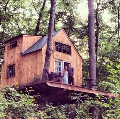 $4,000 dollar dream home tree house. Eco-friendly and budget friendly