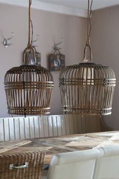 San Carlos Hanging Lamp - Lamps & lampshades - Nursery and Children's Room - Everything you need for a room - Collection Rivera Maison, Elegant Dining Room, Wicker Furniture, Modern Country, Handmade Furniture, Hanging Lights, Hanging Lamps, Lampshades, Home Lighting