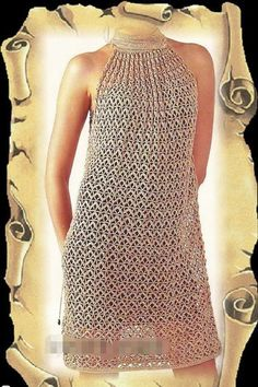 Pattern and diagram + surprise gift with photo format without written explanation chic pattern pdf crocheted women dress
