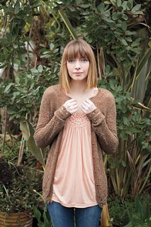 Juliet Cardigan by Sarah Beverton 100% alpaca 2 ply