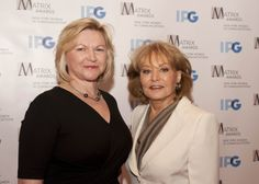 Barbara Walters, #Matrix12 Presenter to Zenia Mucha who is the Executive Vice President and Chief Communications Officer of The Walt Disney Company, retires after over 50 years on-air. A true trailblazer and inspiration!