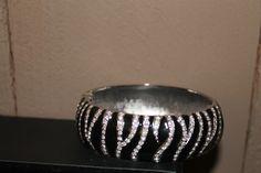 Zebra inspired bracelet!!! More bling ladies!
