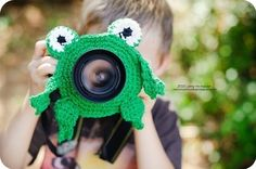 Frog Lens Buddy, Photo Prop