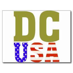 DC USA! The District of Colombia :)  http://www.zazzle.com/dc_usa_postcard-239708362966059898?rf=238020180027550641