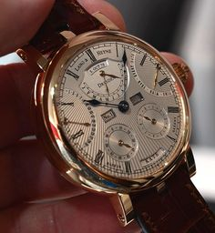 """Independent watch brand Lang und Heyne of Dresden, Germany named their latest watch after Augustus, which carries on their tradition of naming their timepieces after Saxon nobles. In this case, for the """"Papa"""" of Saxony."""