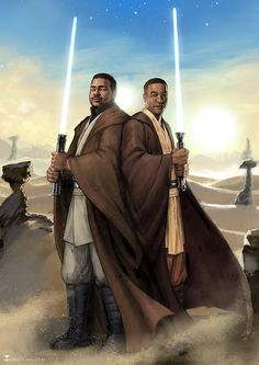 """Jedi Knights"", illustrated by Sonia Matas."