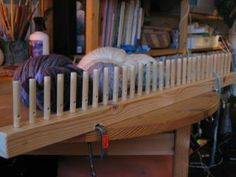 How To Make Your Own Peg Loom