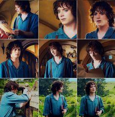 "Elijah Wood as Frodo Baggins in ""The Hobbit"""