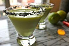 Try this Spicy Avocado Margarita with El Consuelo Tequila.