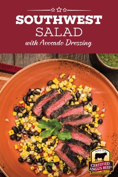 Who says you need lettuce to enjoy an amazing salad?! This Flank Steak Southwest Salad is packed with protein, vitamins and sensational Southwest flavors that will amaze your dinner guests and make you queen of the grill!