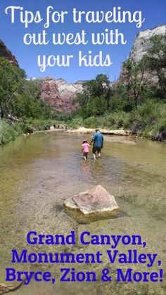 Visiting the National Parks out west can be a great family vacation, but traveling with kids can be a challenge. Read these tips to plan before you go.