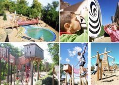 Bdu - El Valle de los 6 sentidos, Renedo de Esgueva, Valladolid #bdu #juegos #juegosinfantiles #niños #valladolid #proyectos