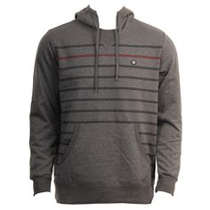 RVCA Mens Sweatshirt Steady Gray Noise