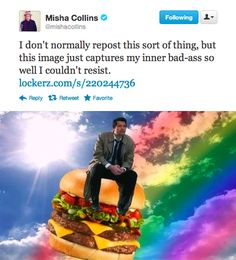 Meanwhile, Misha.