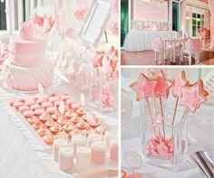 Little Girls Spa Birthday Party Ideas | little-PRINCESS-ballerina-themed-birthday-party-via-Karas-Party-Ideas ...