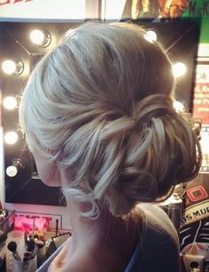 Tonya Pushkareva Long Wedding Hairstyle for Bridal via tonyastylist / http://www.himisspuff.com/long-wedding-hairstyle-ideas-from-tonya-pushkareva/23/