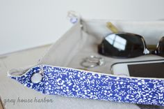 how to sew a travel tray  |  greyhouseharbor.com