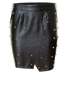 black spiked skirt // TALLYWEIJL