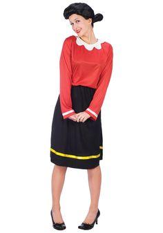 Fun World Costumes Women's Womens Olive Oyl Costume