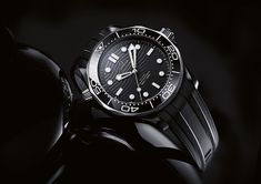 Diving Titan: Reviewing the Omega Seamaster Diver 300M in Black Ceramic | WatchTime - USA's No.1 Watch Magazine