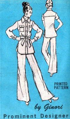 Prominent Designer M402 Super Fine Jacket & Pants 1970's