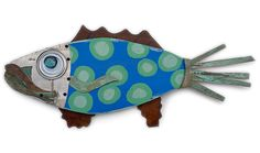 Fantasy Fish Wall Art - Cool Cobalt