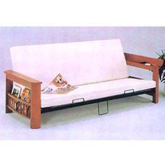 Wooden Futon sofa w/Magazine Rack 7524 (A)    http://www.nationalfurnishing.com/item--Wooden-Futon-sofa-w-Magazine-Rack-7524-A--300.html