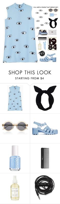 """""""""""Heart to heart, and eyes to eyes, is this taboo?..."""""""" by ginaisanerd ❤ liked on Polyvore featuring Polaroid, Lulu in the Sky, ORWELL, Illesteva, JuJu, Essie, Sephora Collection, Herbivore and Urbanears"""