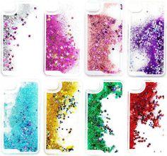 Liquid Glitter iPhone Cases 5/5c/5s 6/6 Plus by JewellerybyJadeX on Etsy https://www.etsy.com/listing/233511024/liquid-glitter-iphone-cases-55c5s-66