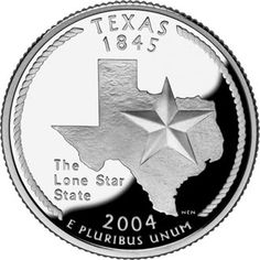 Texas Quarter: The Lone Star State