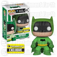 Batman 75th Green Rainbow Batman Pop! Vinyl - EE Exclusive - Funko - Batman - Pop! Vinyl Figures at Entertainment Earth